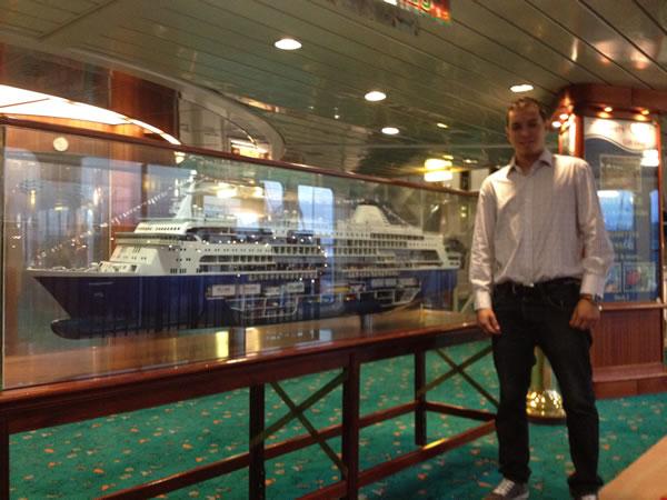 Palm Beach Harbor Pilots - Scholarship Winner Miseal Ramos, Texas